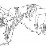 "Ringo Noyamano  from manga ""Air Gear"""