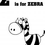 Litera Z jak zebra