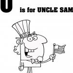 Litera U jak wujek Sam