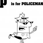 Litera P jak policjant