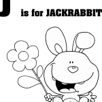 Litera J jak króliczek