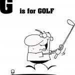 Litera G jak golf