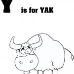 Litera Y jak Jak