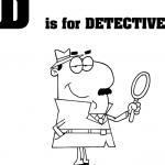 Litera D jak detektyw