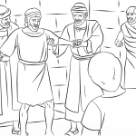 Paul and Barnabas in Lystra