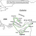 St Paul's First Missionary Journey