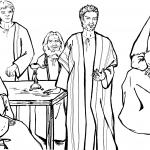 Paul is Giving a Discourse in Troas
