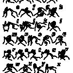 Zbiór znaków alfabetu angielskiego