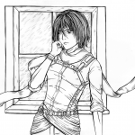 Mikasa Ackerman from Manga Series...