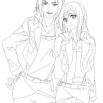 Historia Reiss and Ymir
