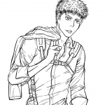 Jean Kirschtein from Manga Series...
