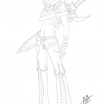 Gaia Anime Boy Character