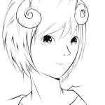 Ryo Anime Boy by ZaveKey