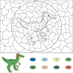 Guanlong Color by Number