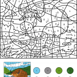 Yak Color by Number
