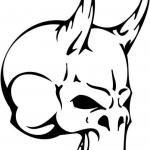 Diabelska czaszka