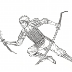 Naruto from Manga Gintama