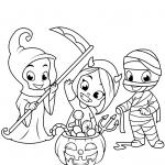 Cute Little Grim Reaper, Devil,...