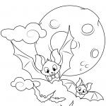 Cute Flying Bats
