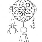 Halloween Dreamcatcher with Voodoo...
