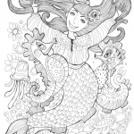 Mermaid and Sea Horses Dancing