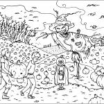 Halloween Scarecrow Jack-o'-Lantern...