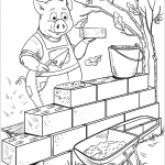 Penny Pig Builds a Brick House