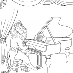 Lion Playing Piano as an Introduction