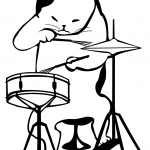 Cat the Drummer