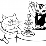 Tea Time for Cats