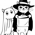 Cats in Costumes for Halloween