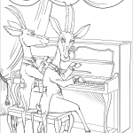 Antelopes at the Piano