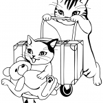 Cats Going to Travel