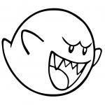 Mario Bros King Boo