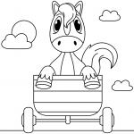 Horse in a Carriage