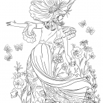 Queen of Flowers or Woman Chamomile