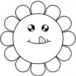 Cartoon Flower Face
