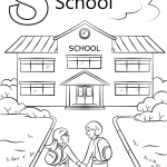 Letter S is for School