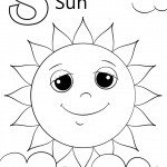 Letter S is for Sun