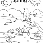 Letter S is for Spring