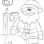 Letter S is for Santa
