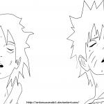 Naruto 698 Naruto and Sasuke