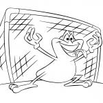 Piłkarska żabka