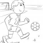 Cartoon Football Player