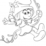 Smurflily from Smurfs: the Lost...