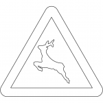 """Wild Animals"" Sign in Spain"