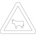 """Domestic Animals"" Sign in Spain"