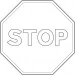"""Stop"" Sign in Spain"