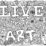 Live Your Art Doodle
