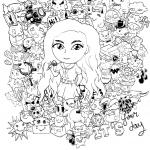 Przepiękny Doodle stworzony przez...